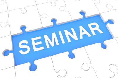 Seminar – Calificarea personalului de executie pentru sudare și procedee conexe.